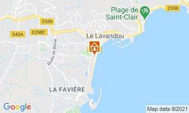 Mappa Le Lavandou Appartamento 86346