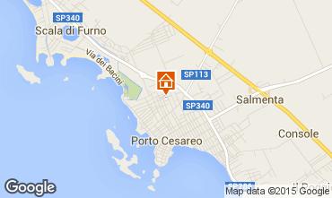 Mappa Porto Cesareo Appartamento 32095