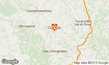 Mappa San Gimignano Appartamento 81030