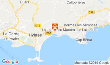 Mappa La Londe les Maures Agriturismo 118618
