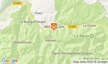 Mappa Les 2 Alpes Appartamento 101201