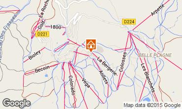 Mappa La Plagne Monolocale 65473