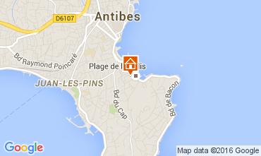 Mappa Antibes Appartamento 105595