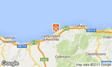 Mappa Cefalù Appartamento 70287