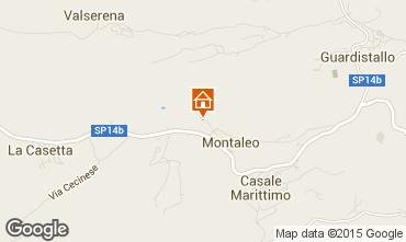 Mappa Casale Marittimo Appartamento 58827