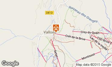 Mappa Valloire Appartamento 63869