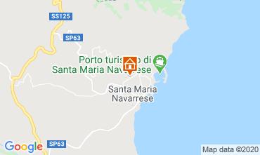Mappa Santa Maria Navarrese Appartamento 83808