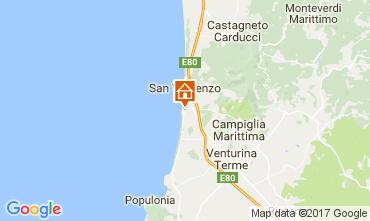 Mappa San Vincenzo Appartamento 107541