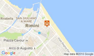Mappa Rimini Appartamento 32172