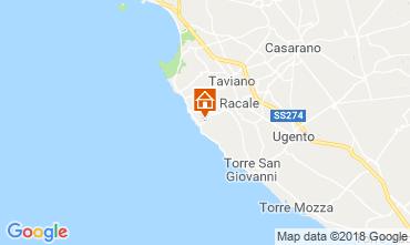 Mappa Alliste Villa  113895